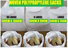 SUPER Tough Woven Rubble Sacks/bags Builders/Gardeners/Clearance Posting