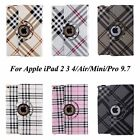 360 Rotating Luxury Leather Smart Case Cover Stand For iPad 2 3 4/Air 2/Mini/Pro