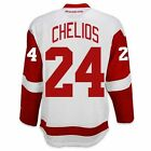 Chris Chelios Detroit Red Wings Road Jersey by Reebok