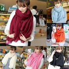 New Winter Womens Wrap Scarf Cashmere Wool Warm Scarves Long Large Shawl Tassel