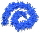 Beautiful 72 inches Turkey Feather Boas - Halloween costume Feather Deco