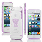 For Apple iPhone 5s 6 6s 7 Plus Slim Clear TPU Hard Case Cover Tribal Elephant