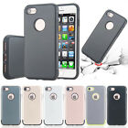 Hybrid Heavy Duty Shockproof Rubber Hard TPU Case Cover For iPhone6 6S 7 /7 Plus