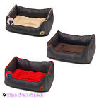 Dog Puppy Cat Kitten Waterproof Washable Soft Cushion Square Pet Bed