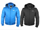 Mens New ellesse Trivento Padded Quilted Hooded Jacket Winter Coat Hoody