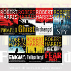 Robert Harris Collection 7 Books Set Fatherland, Enigma,An Officer and a Spy New