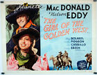 The Girl of the Golden West re/ 142264/ Jeanette MacDonald/ 1938/ Robert Z. Leon