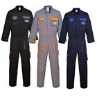 Portwest Texo Contrast Work Wear Knee Pad Coverall Overall Boiler