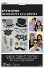 10 x New Year Photo Booth Face Photo Props Party Activity Ideas FREE P&P