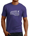 Evolution Of Football Men's Funny T-Shirts 14 Colors Sizes Small/XX-Large.