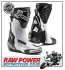 TCX R-S2 Evo Motorcycle Motorbike Boots - White/Black