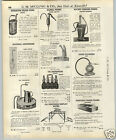 1937 PAPER AD Lawco Oil Glass Quart Bottles Gas Service Staion Basket Rack