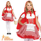 Child Lil' Miss Red Costume Girls Fairytale Fancy Dress Outfit New by Leg Avenue