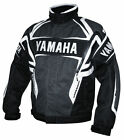 New Yamaha Team Jacket SNowmobile Black and White