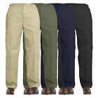 New Mens Elasticated Waist Work Casual Rugby Trousers Pants Smart Rugby Trousers