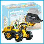 NEW PLAYMOBIL 5469 CONSTRUCTION FRONT LOADER with DRIVER MADE IN GERMANY