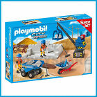 NEW PLAYMOBIL CITY 6144 CONSTRUCTION SITE SUPER SET 49 PCS MADE IN GERMANY