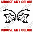 Dodge Challenger Charger HELLCAT SRT Mopar logo Diecut Vinyl Decal Sticker PAIR $2.99 USD on eBay