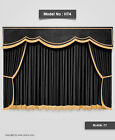 Saaria Home Theater Velvet Stage Curtain Drapery 7'Wx8'H ...