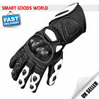 Heavy Duty Motorbike Motorcycle Gloves Carbon Knuckles Protection Waterproof