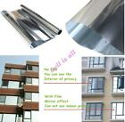 Mirror Window Film One Way Silver Tinting Reflective Privacy Tint Home Decor