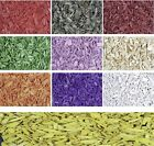 WOOD CHIPS COLOURED 600ML PACKS CHOICE OF COLOURS, READY TO SCENT/DECORATE WITH