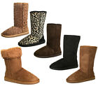 New Womens Fashion Boots Ladies Classic Snow Boot Faux Fur Suede Shoes 430L