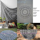 Assorted white & Black Queen Twin Round Mandala Table Cloth Beach Throw Tapestry