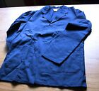 Navy Alexandra Workwear W44 Quality Concealed stud front Jacket