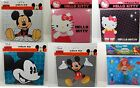 Mouse Pad Mickey Mouse / Hello Kitty / Ariel 6 Different Designs To Choose From