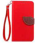 Flip Leather Wallet Card Strap Kickstand Case Cover For Microsoft Nokia Lumia