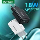 UGREEN USB Charger Quick Charge 3.0 18W Rapid  USB Wall Charger Adapter EU Plug
