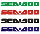 4 Adesivi SEADOO Sponsor Stickers Sport Scooter Snow Yathing Accessori Free
