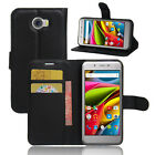 Flip Magnetic Card Wallet PU Leather Case Stand Cover Skin For Archos 50 Cobalt