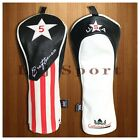 USA Golf Headcover For Cobra Adams Titleist Taylormade M2 Driver Fairway Hybrid
