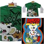 New Boys Kids Danger Mouse Boom Long Sleeve Top Ages 4-12 Years