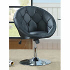 Coaster Contemporary Round Tufted Swivel Chair