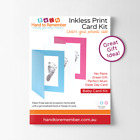 Baby Inkless Print Kit With Display Card- Pink, Blue or White Personalised Card