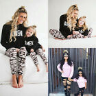 XMAS Kids Baby Adult Family Casual Blouse T-Shirt Fashion Loose New Tops LC