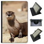 Otter Animal Universal Folio Leather Case For Amazon KindleTablets