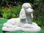 CONCRETE POODLE DOG STATUE OR USE AS A MONUMENT