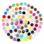 12 to 84 colors Nail Art Glitter Tips Decoration Dust Set Kit for UV Gel Acrylic