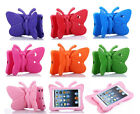 3D Butterfly Children Kids Safe Shockproof Foam Stand Case Cover For Apple iPad