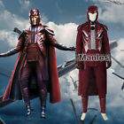 X Men Apocalypse Magneto Costume Erik Lehnsherr Cosplay Fancy Dress Christmas