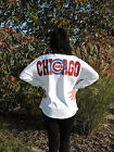 """CHICAGO CUBS """"OVERSIZED"""" GAME DAY JERSEY FOR THE LADIES - BLING BLING BLING!"""