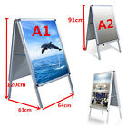 A1/A2 ALUMINIUM A-BOARD PAVEMENT SIGN POSTER SNAP FRAME DISPLAY STAND ADVERTISE