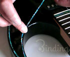 Binding Elastic Inlay Sticker Decal  For Guitar Bass Body, Neck,Headstock.