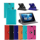 Universal 360° Folio Leather Case Cover For Android Tablet PC 7