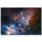 Outer Space Galaxy Stars Nebula Landscape Poster Home Decor
