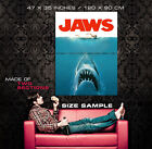 Jaws Movie Art Wall Poster